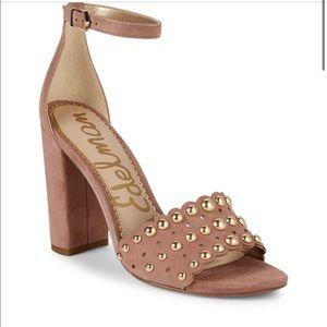 Sam Edelman Yaria Studded Block Heel Sandal 8M NWT
